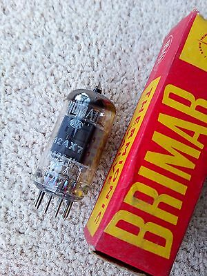 Brimar 12AX7 ECC83 1962 type 1574 O getter tested NOS
