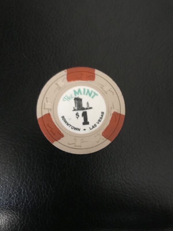 The Mint Casino $1 chip, 6th issue