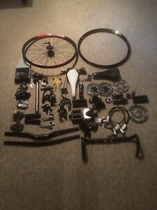 High Quality Mountain, and Road Bike Parts (LOTS)
