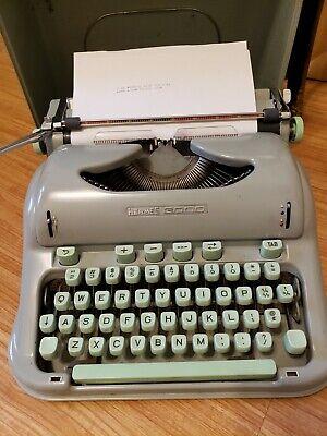 Antique 1964 Hermes Model 3000 Vintage Typewriter #3242670