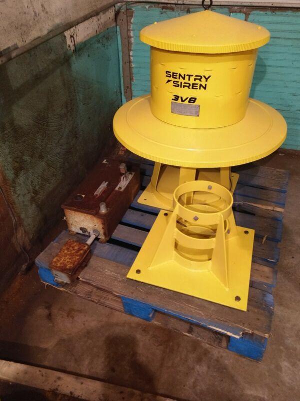 SENTRY SIREN 3V8 RESTORED AND WORKING!!!