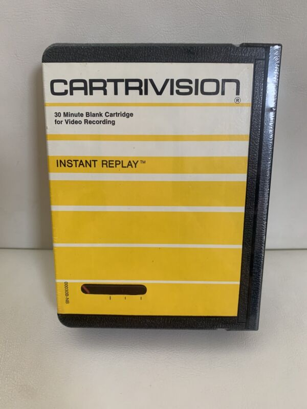 New Cartrivision 30 Minute Blank Cartridge