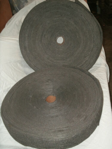 Two New 20 and 20+ Pound Rolls of Fine Steel Wool