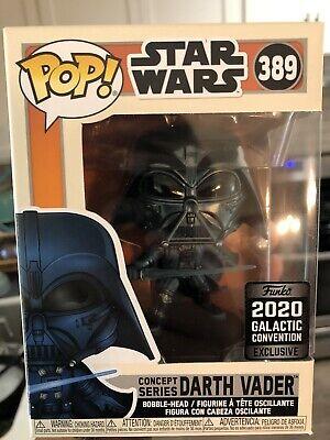 Stars Wars Funko Pop Concept Series Darth Vader 2020 Galactic Convention
