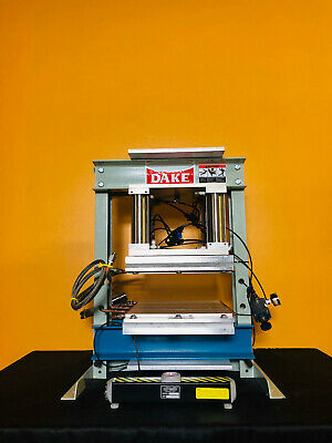 Dake Custom Press 12 X 15 316 Work Area 6 Stroke Pneumatic Press. Tested