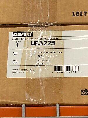 Siemens Wb3225 Circuit Breaker Enclosure