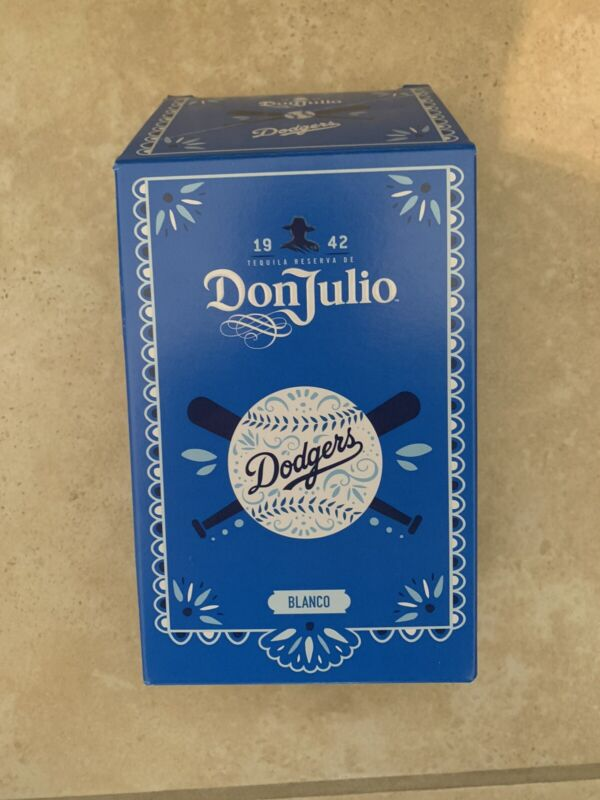 Don Julio Tequila Blanco LA Dodgers Empty Box NEW!