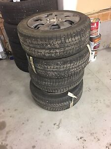 Winter Tires/Rims and Caps Strathcona County Edmonton Area image 1