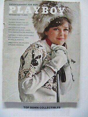 Playboy Magazine Vintage  November 1963   Terre Tucker Playmate    Cleopatra