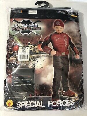 Special Forces Child Halloween Costume (Special Forces Soldier Military Combat  Halloween DLX Child Costume Large)