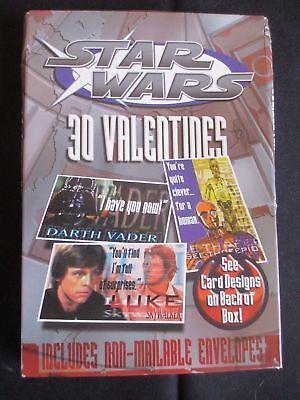 Star Wars Valentine Box (STAR WARS 3D VALENTINES 2 BOXES New)