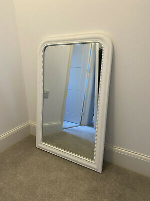 White Overmantle Wall Mirror House Doctor