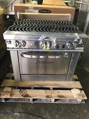 Southbend 4362d 6 Burner Gas Restaurant Range With 2 Standard Ovens Wavy Grates