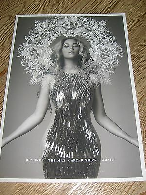 Beyonce Concert Program 2013 The Mrs. Carter Show Tour