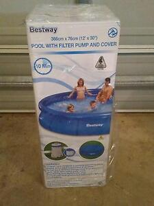 brand new BESTWAY 12 foot pool Hectorville Campbelltown Area Preview