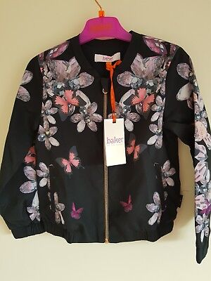 Ted Baker Girls Jewels Bomber Jacket. 4, 6, 7 Years. Rrp £40.00