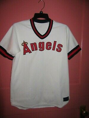 1982 Cooperstown Collection Angels Jersey NO NUMBER - Size L - -