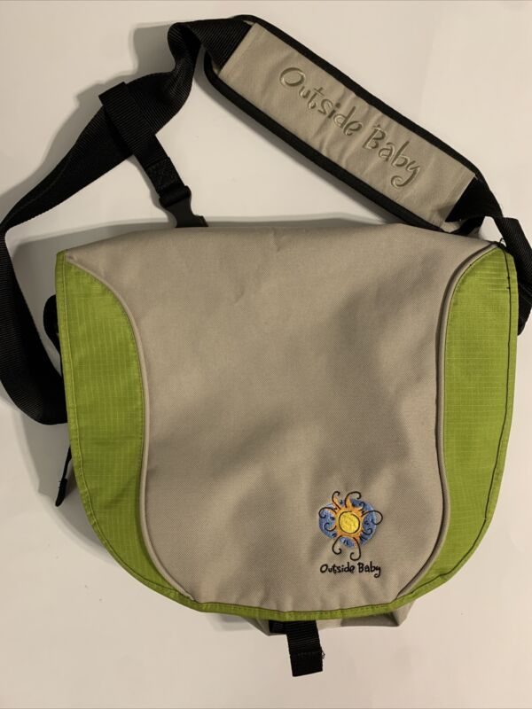Outside Baby Diaper Bag w/shoulder strap