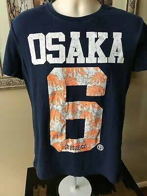 SUPERDRY (M) Blue ~ OSAKA #6 T-shirt