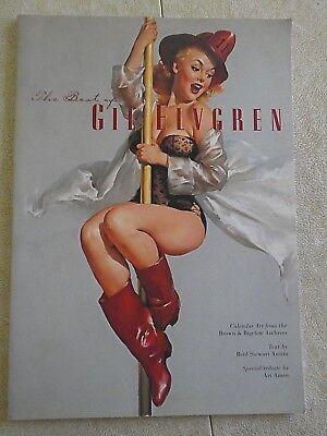 The Best of Gil Elvgren - Pin-Up Calendar Art 1999 softcover 1st