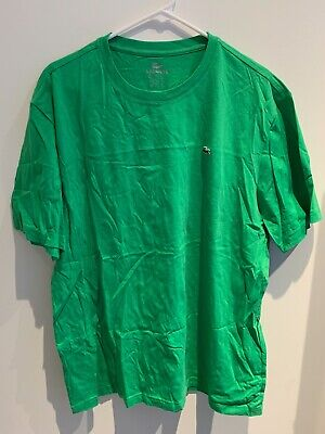 Great Condition Size 8 (XXL / 2XL) Mens Lacoste Green Crew Neck T shirt