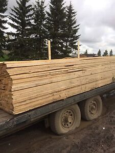 1x4s and 1x6s rough cut spruce