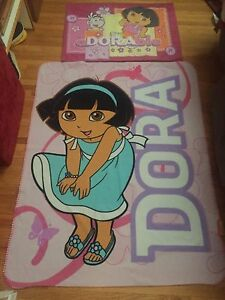 Dora blanket and pillow  case