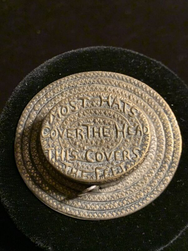 Antique Hat Sewing Tape Measure