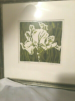 Gregory Iris ( Art Print Signed by B. Gregory - Iris Bloom -  very limit- edition- - 5/23)