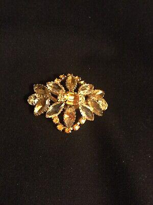 Vintage Rhinestone Brooch/Pin Women's Classic Costume Jewelry