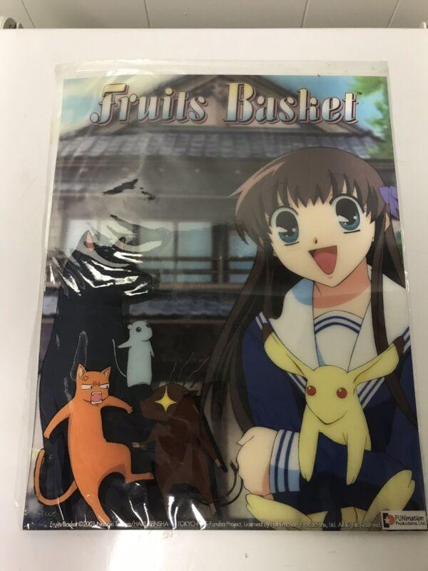 Fruits Basket Natsuki Takaya FUNimation Promo Poster 3D