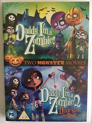 Animated Halloween Movies 2000 (Daddy I'm A Zombie / Daddy I'm A Zombie 2 (DVD) Double Pack, Animated Film,)