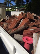 1.2T Firewood - generous loads of dry split jarrah free delivery Safety Bay Rockingham Area Preview