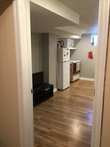 One bedroom basement apartment . Available Nov 1st