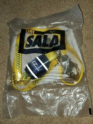 3m Dbi-sala Shock-absorbing Lanyard6 Ft.310 Lb. 1246011 Yellow