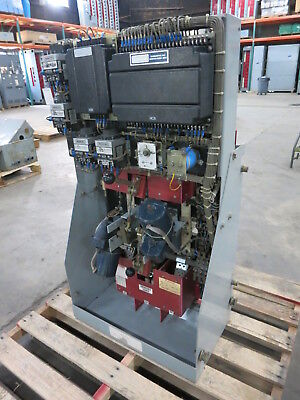 Russelectric Rtbd-4003ce 400a 277480v Automatic Transfer Switch 400 Amp Ats 3ph