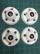 4 x trailer wheel hub covers & wheel nuts Buff Point Wyong Area Preview