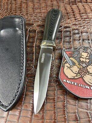 Randall Gambler knife W/ sheath Very Classy Fixed Blade