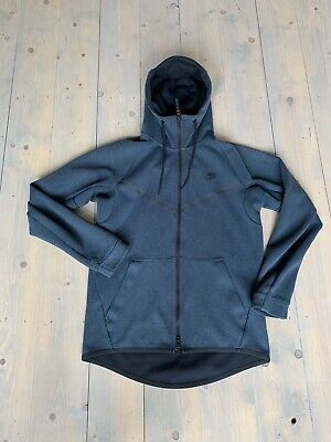Nike Tech Knit Hoodie Hooded Jacket Zip Top Size Small
