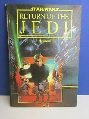 star wars VINTAGE return of the jedi STORY ANNUAL BOOK ROTJ 1983 hardback 04H
