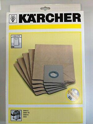 Kärcher Filtersack 6.904-072 5 Stück je Verpackungseinheit (Verpackungseinheit)