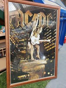 ACDC poster and frame Epping Whittlesea Area Preview
