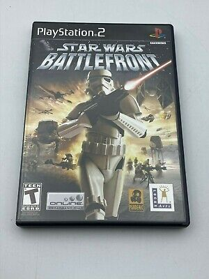 Star Wars Battlefront Sony PlayStation 2 2004 CIB Complete Video Game Tested PS2