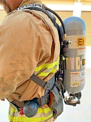 Msa Firehawk Scba Air Pack Cpat Firefighting Training Gear