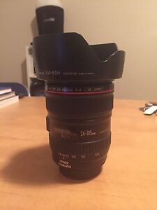 Canon 24-105 mm f/4 L series lens