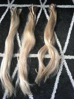 Human hair extensions accessories gumtree australia hobart zarla blonde hair extensions pmusecretfo Images