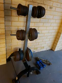 Metal weight plates