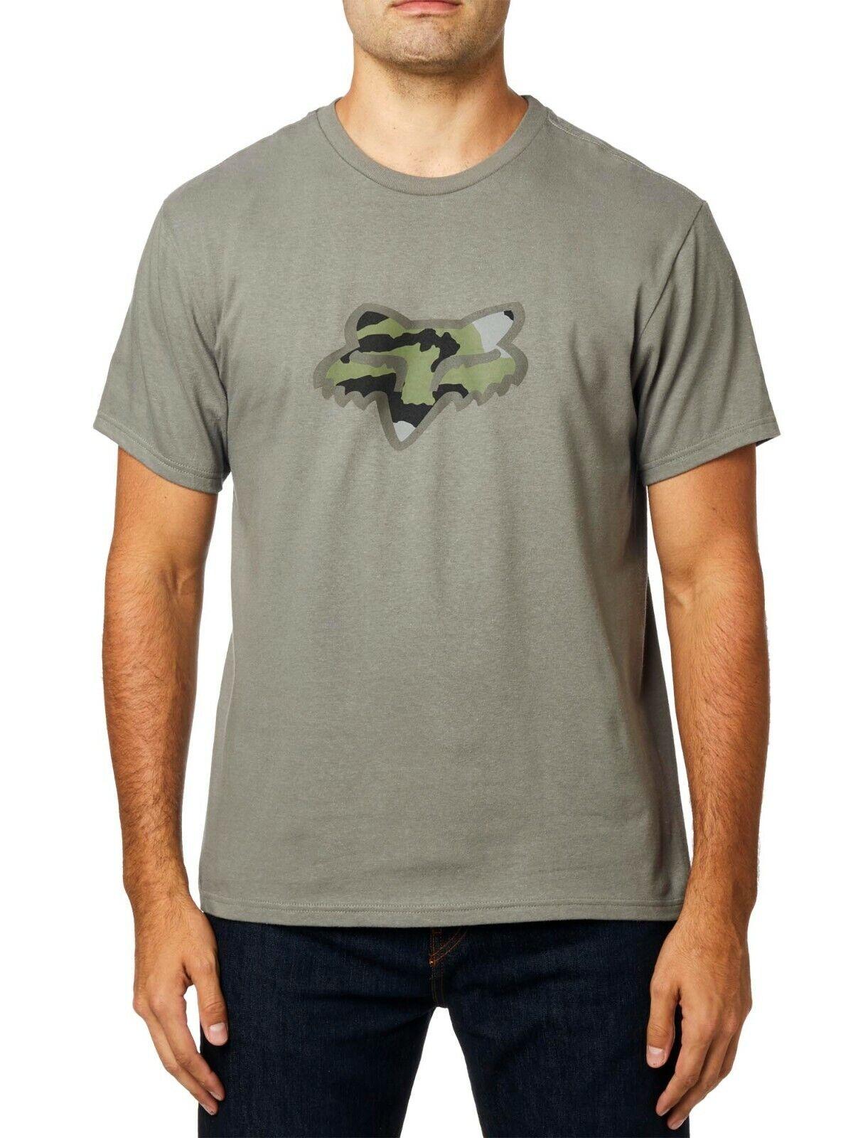 Fox Racing Men's Predator Short Sleeve T-shirt Foxhead Camo