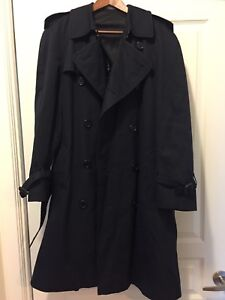 Burberry men's trench coat, size 46