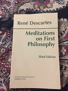 Rene descartes mediations on first philosophy like new